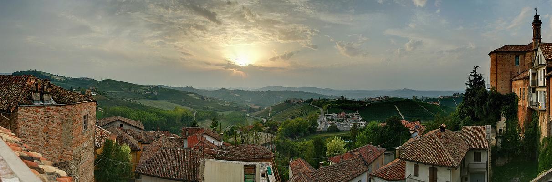 Piemont im Herbst