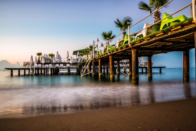 Pier am Hotel Delphin Palace