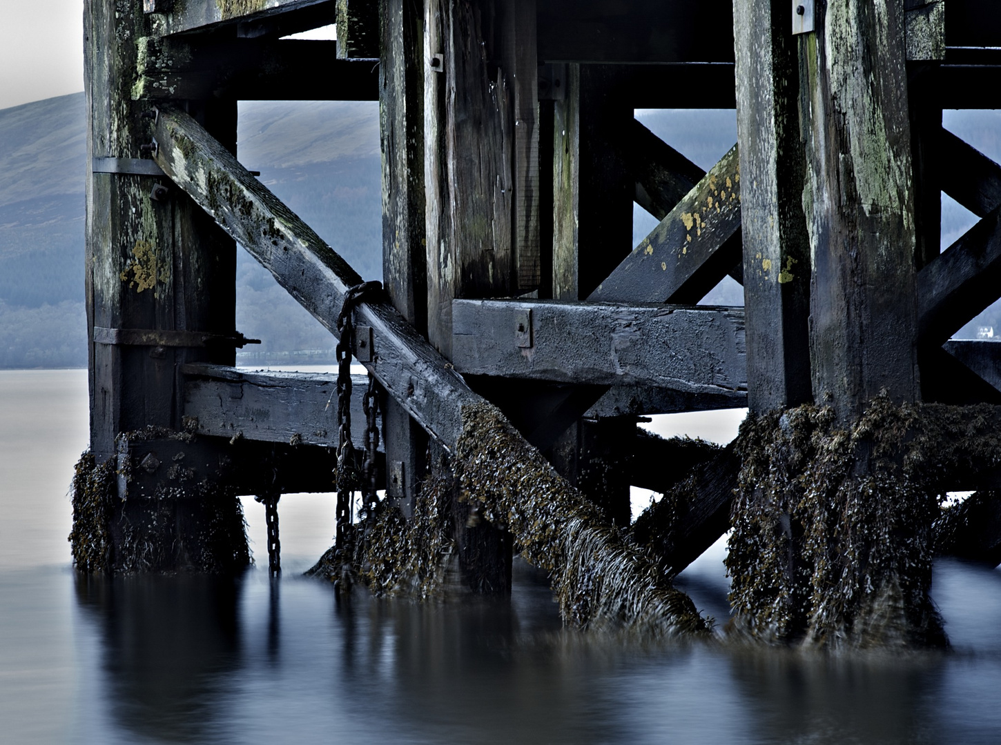 Pier at Inveraray, Argyll