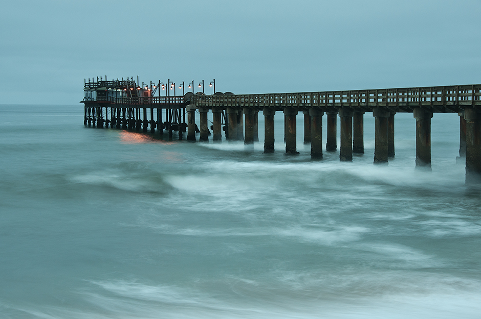 Pier in the Beach