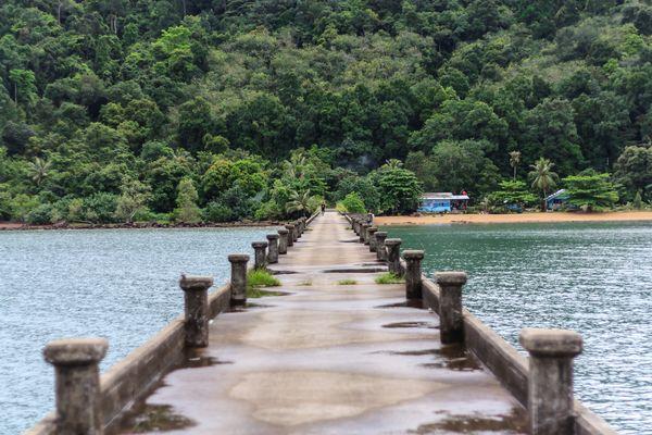 pier in the tropics