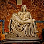 Pietà by Michelangelo, North Aisle, St. Peter's Basilica, Vatican City