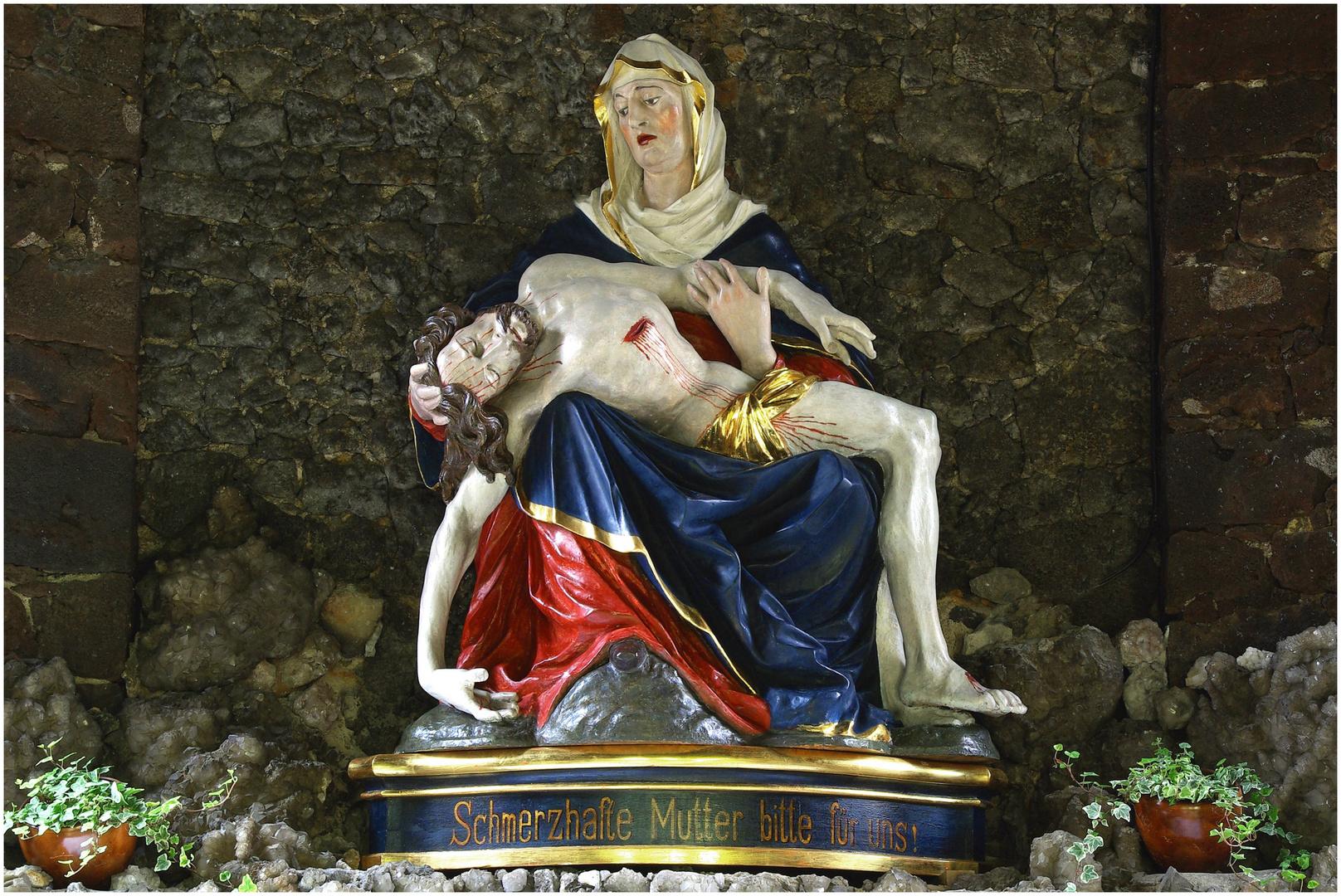 Pieta in der Gnadenkapelle Koblenz-Arenberg