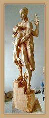 PIETA - Skulptur von Roman Strobl