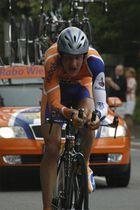 Pieter Weening beim Einzelzeitfahren der D-Tour