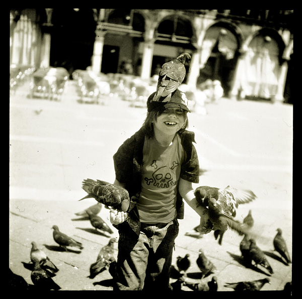 .pigeons in your mind.