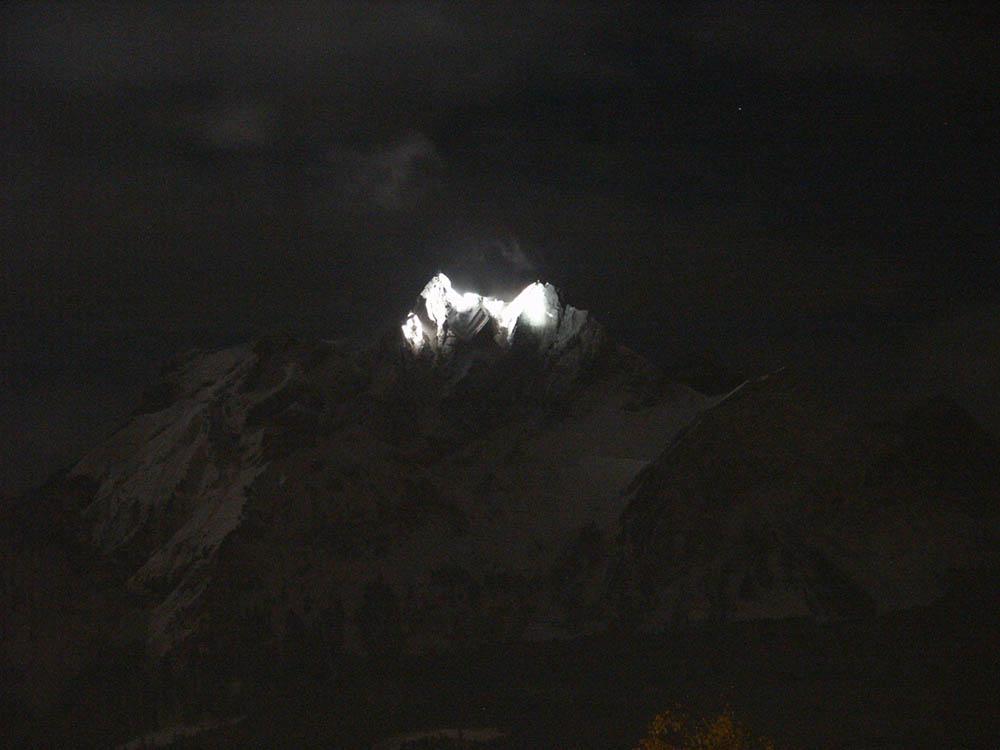 Pilatus [bei Luzern] bei Nacht