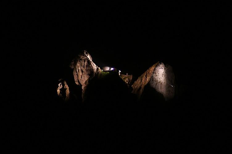 Pilatus bei Nacht