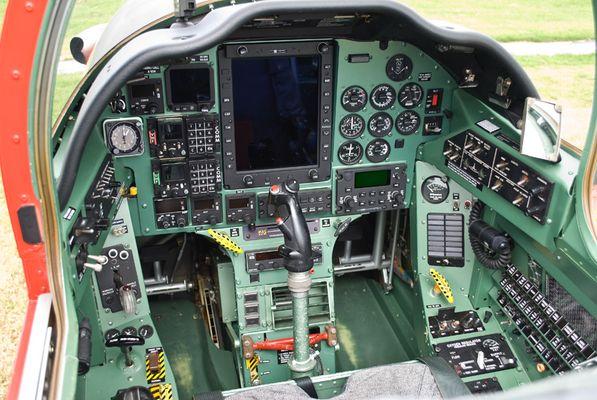 Pilatus PC-7 Cockpit