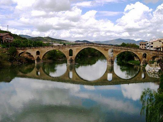 Pilgerbrücke auf dem Camino de Santiago