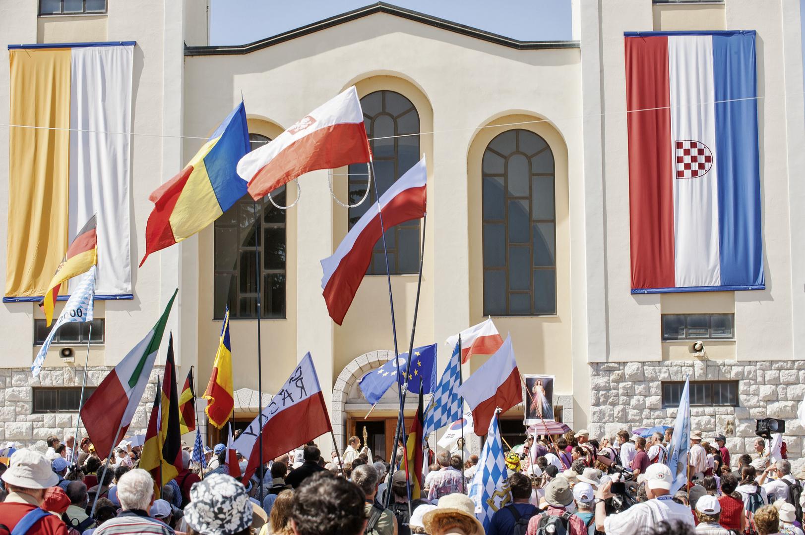 Pilgergottesdienst in Medjugorje