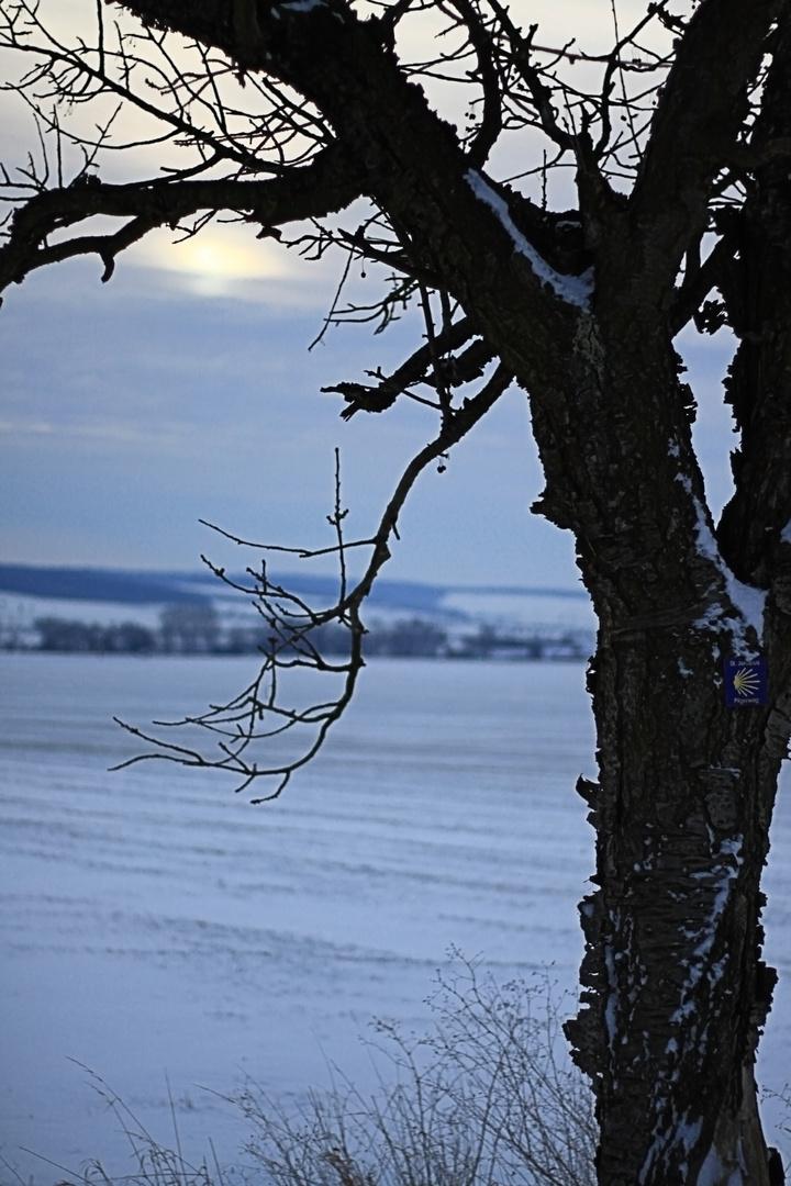 Pilgern im Winter