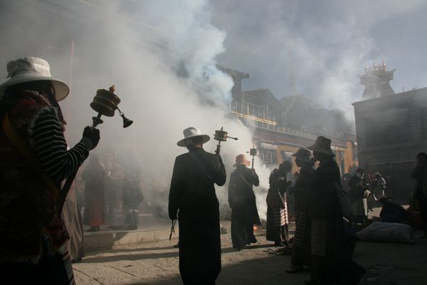 Pilgrim @ Linkohr, Lhasa