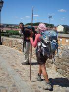 Pilgrims on their way