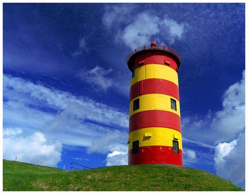 Pilsumer Leuchtturm (Ostfriesland, südlich Greetsiel)