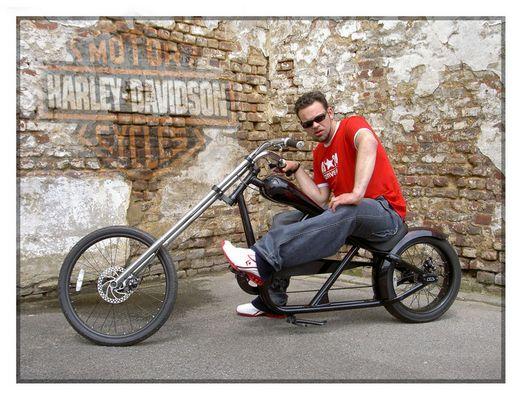 pimp my bike...nur für den Motor hat es nicht mehr gereicht...