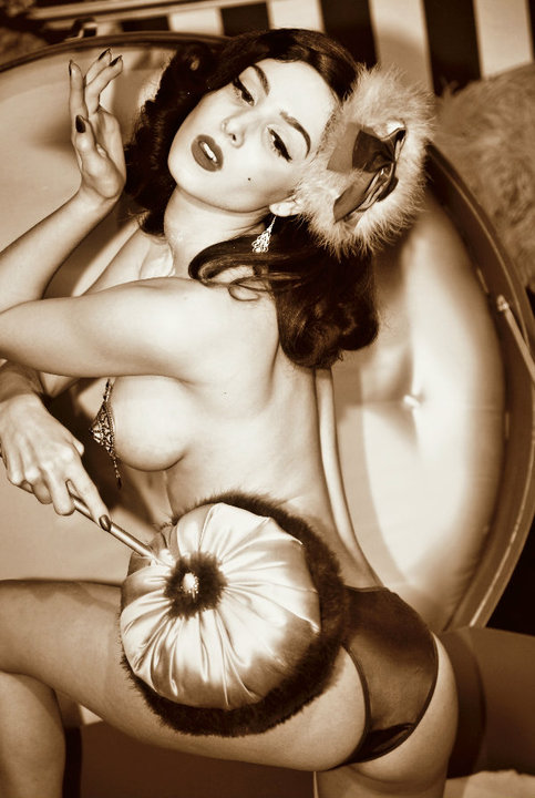 Pin Up vintage Little Diva Paris.