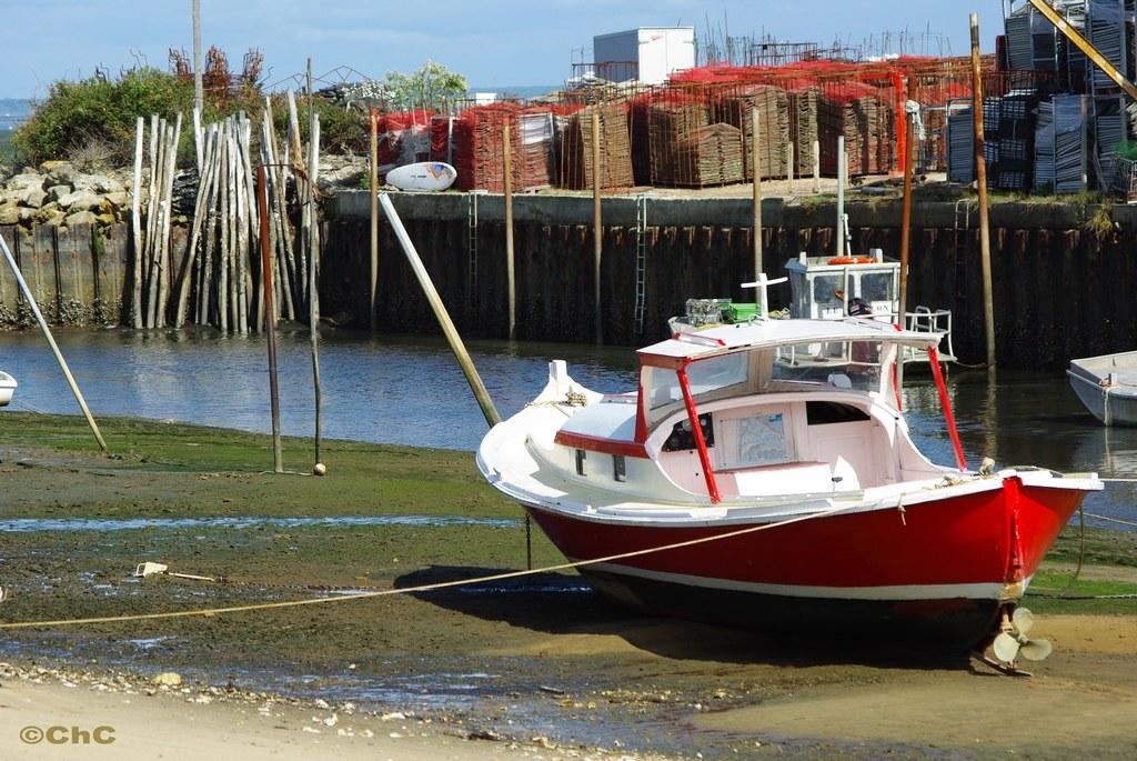 Pinasse au Port du Rocher - La Teste de Buch (33)