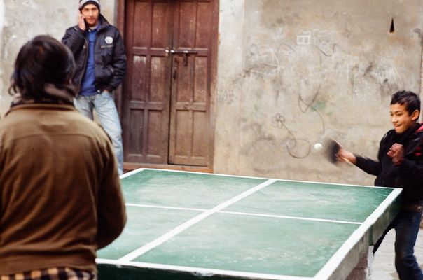 Ping Pong in Nepal