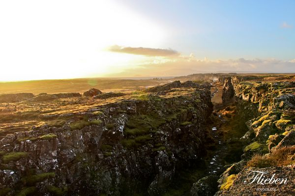 Pingvellir National Park - Grabenbruch - Iceland