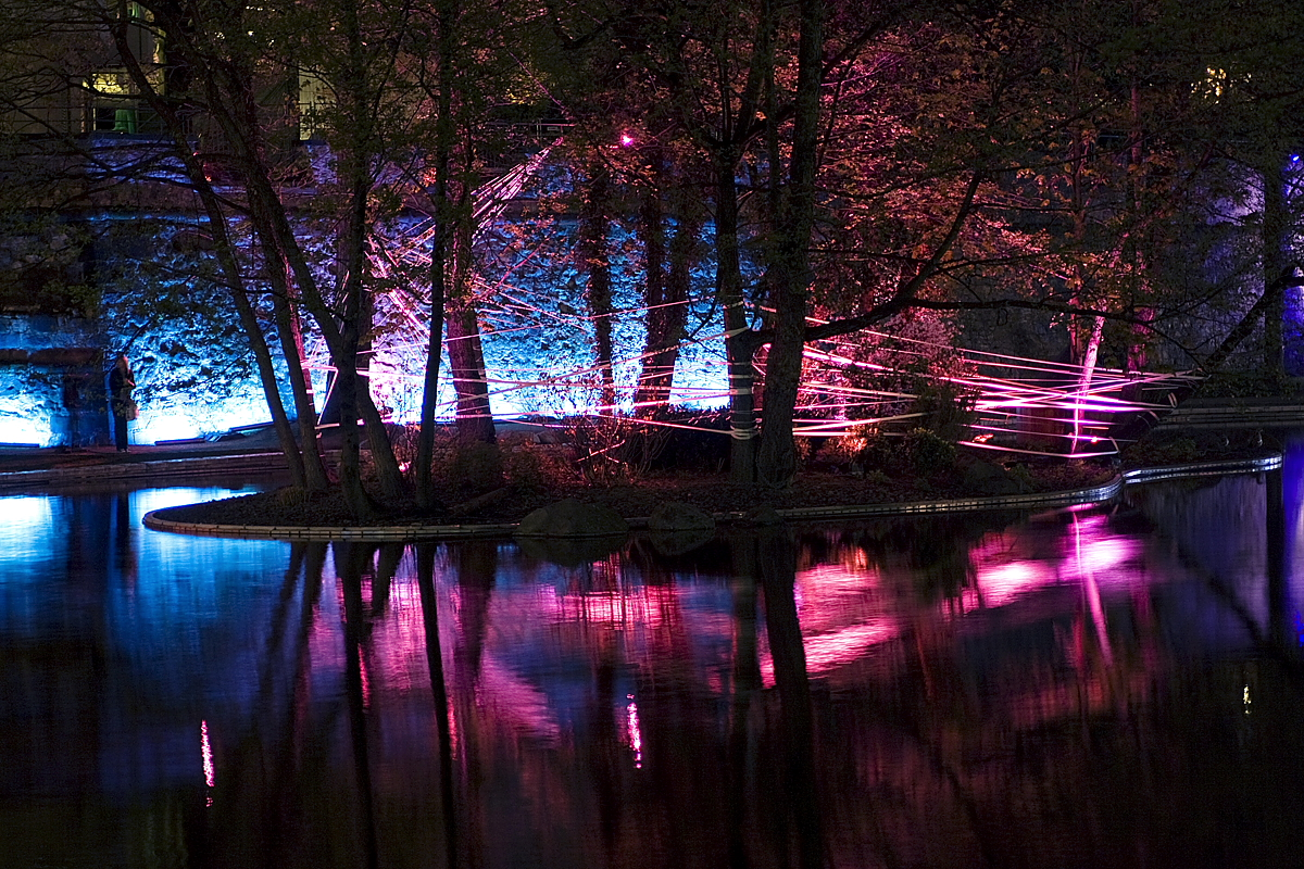 pink and blue @ Luminale 2010