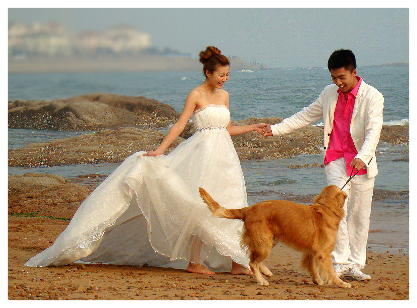 Pink Dog Chinese Wedding Shooting