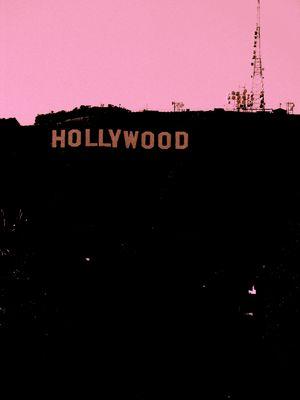 Pink Hollywood Hills