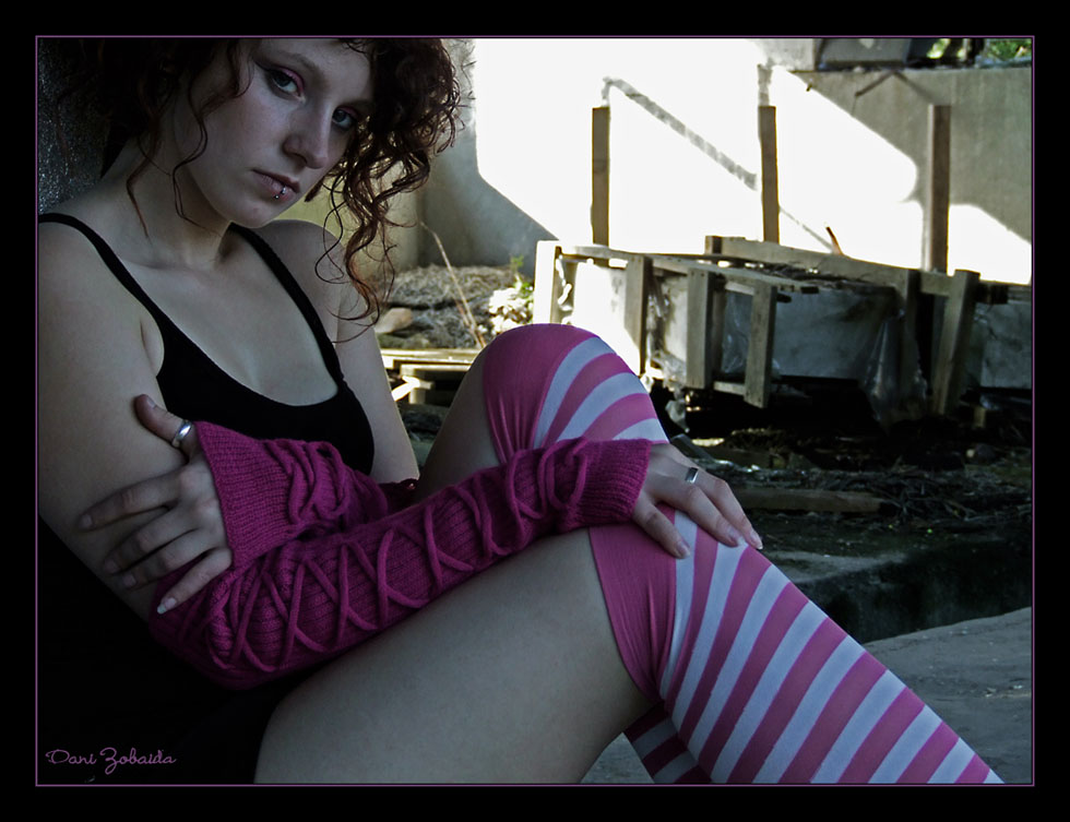 Pink in the dirt II