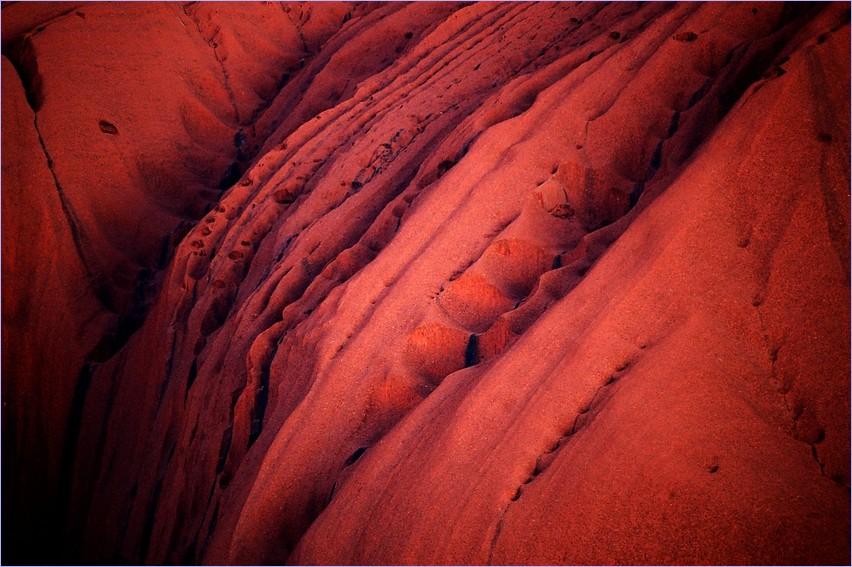 pink Uluru