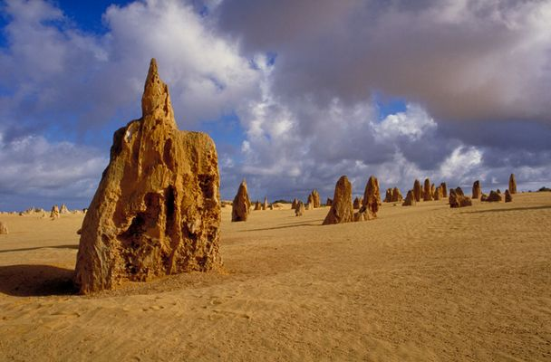 Pinnacles in Nambung Desert, Western Australia