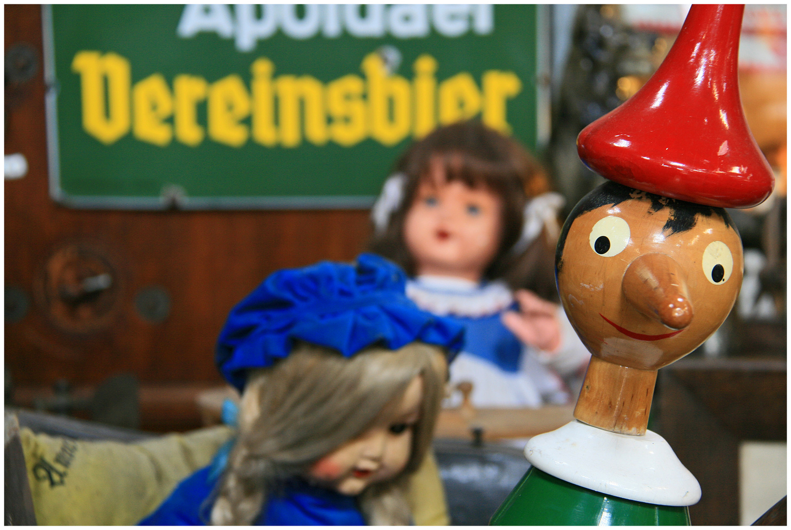 Pinocchio und seine Chicas !!