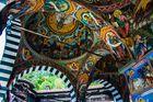 Pinturas bizantinas. Monasterio de Rila. Bulgaria