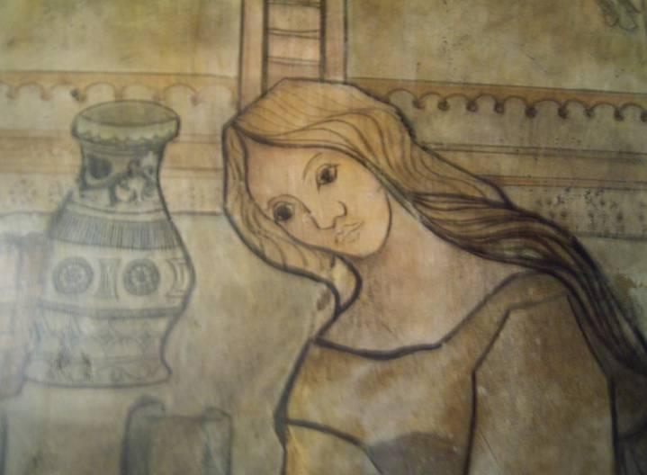 Pinturas en la hermita Santa Eulalia (1)