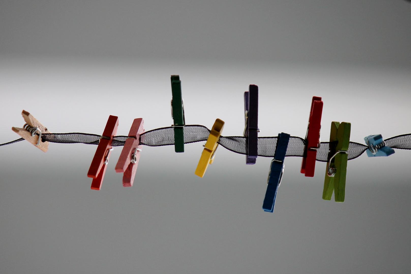 pinzas de colores