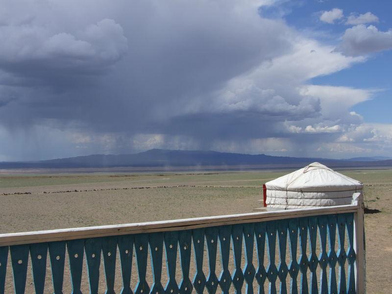 Piogge sparse sul Gobi
