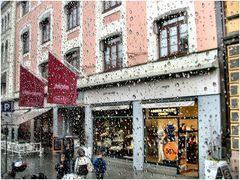 Piove a Oslo, però si vive.
