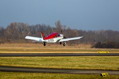 Piper PA 28 Airborne in Worms