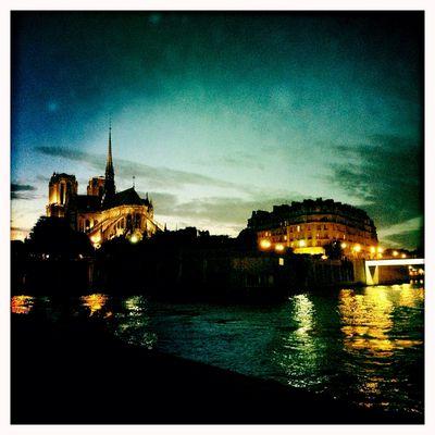 Pique-nique en bord de Seine