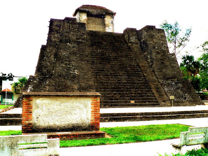 Piramide Castillo de teayo, Veracruz arqueología mexicana