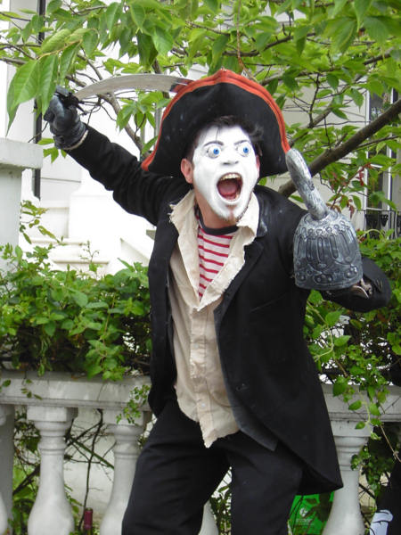 Pirat in London