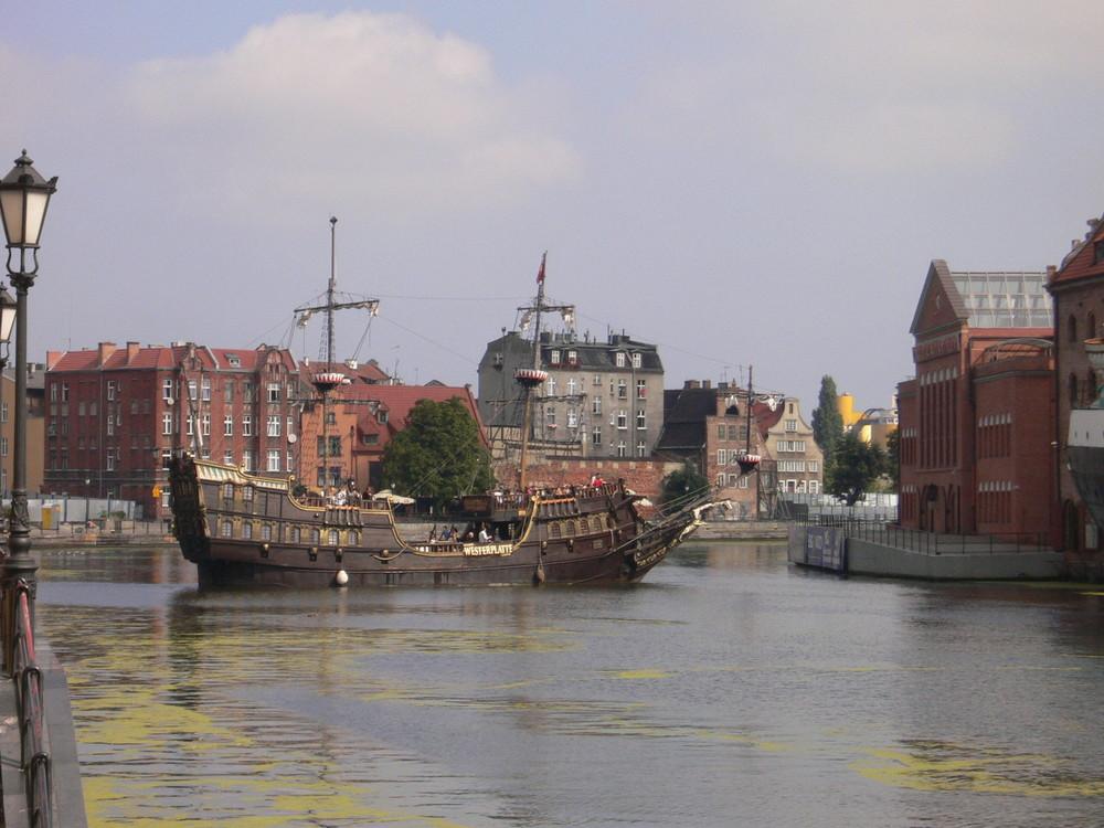 Piratenschiff in Danzig