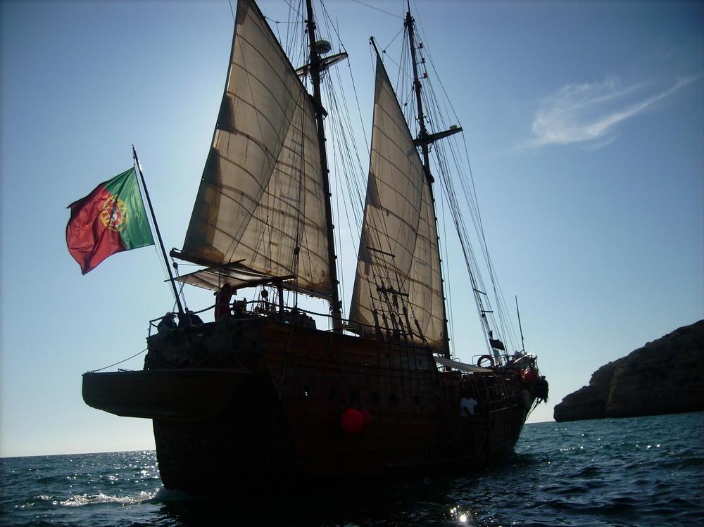 Piratenschiff Santa Bernanda