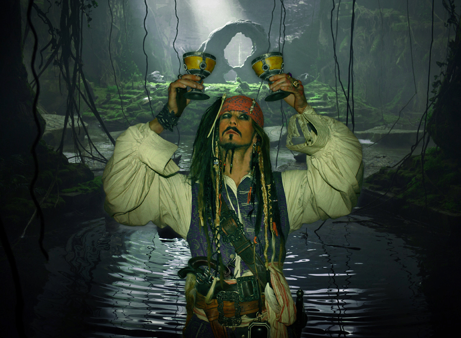 Pirates of the Carabbien - Captain Jack Sparrow - On Stranger Tides - Imersonation