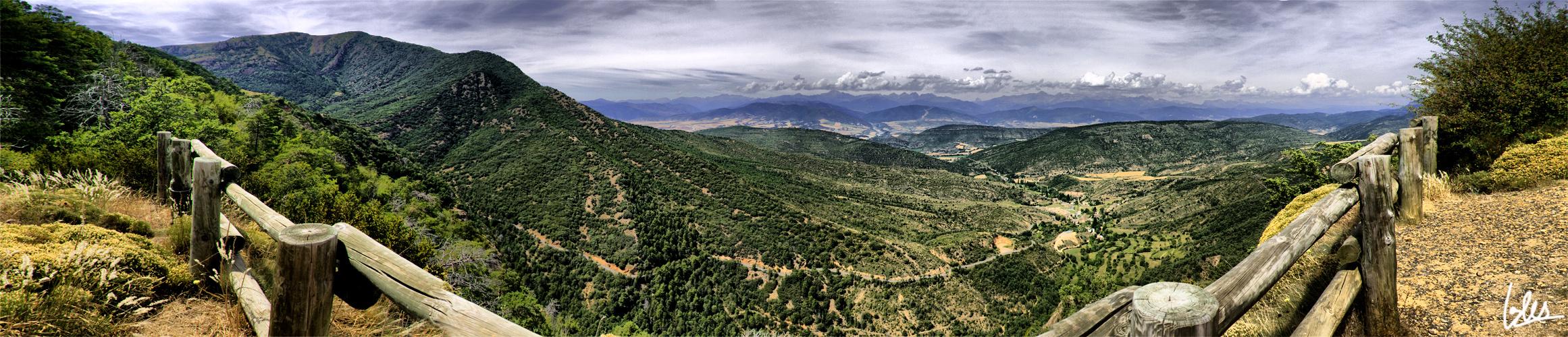 Pirineo Aragonés desde San Juan de la Peña (Huesca)