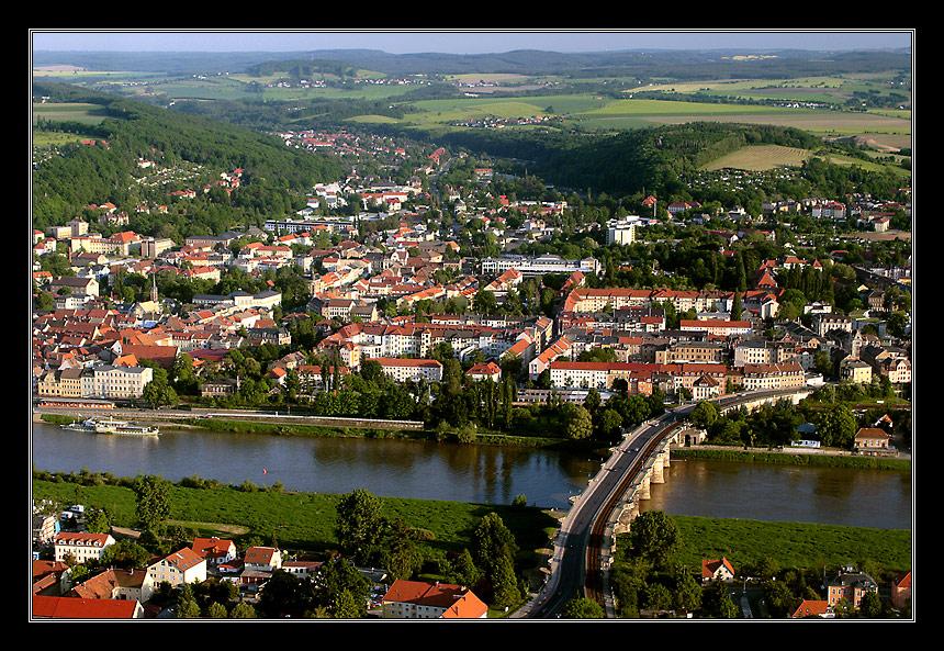 """Pirna """"Tor zur Sächsischen Schweiz"""""""