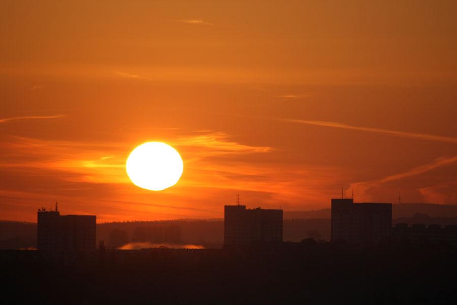 Pirna und das Zentrum unseres Planetensystems