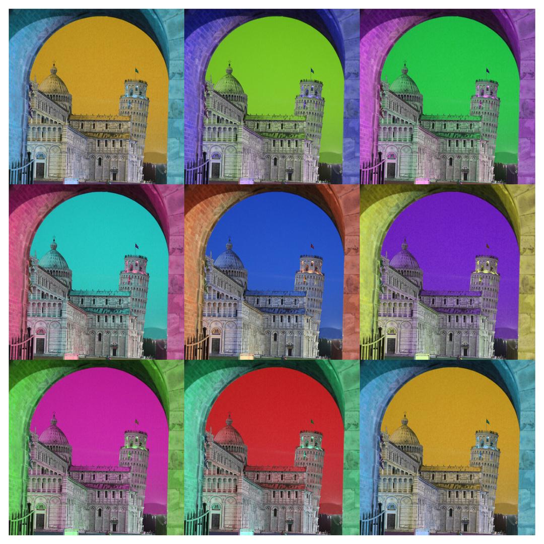 Pisa in farbig