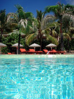 piscine du Cristopher hotel sofitel Saint Barth