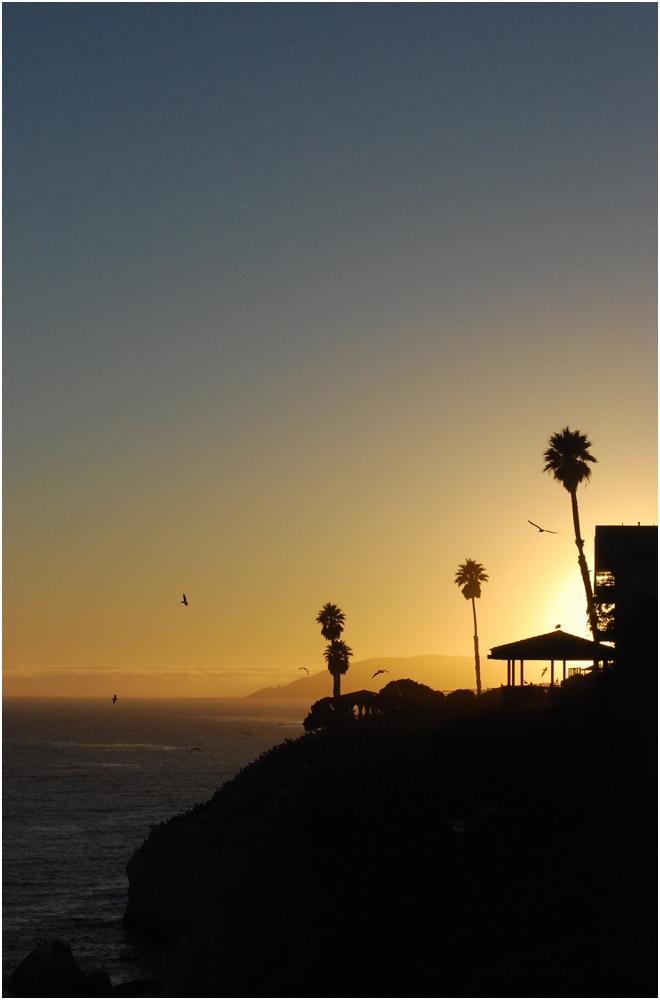 Pismo Beach Sonnenuntergang