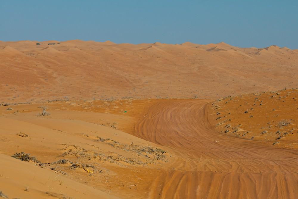 Piste durch die Wüste